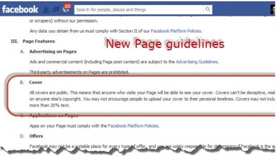 facebook cover photo text guidelines