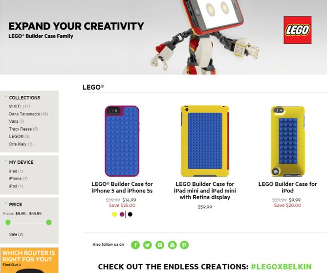 customizable iPhone cases retail example