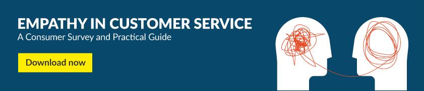 Empathy in customer service