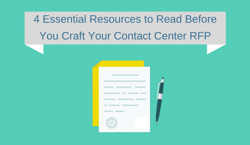 4 Essential Contact Center RFP Resources
