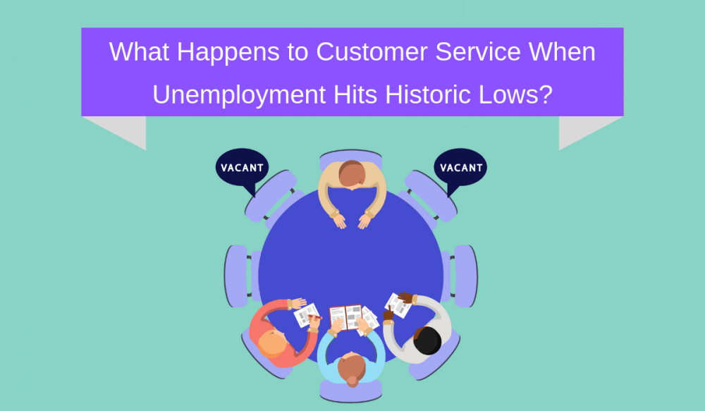 What Happens to Customer Service When Unemployment Hits Historic Lows?