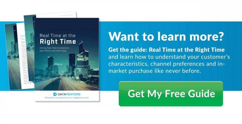 Right Time Marketing Data Guide