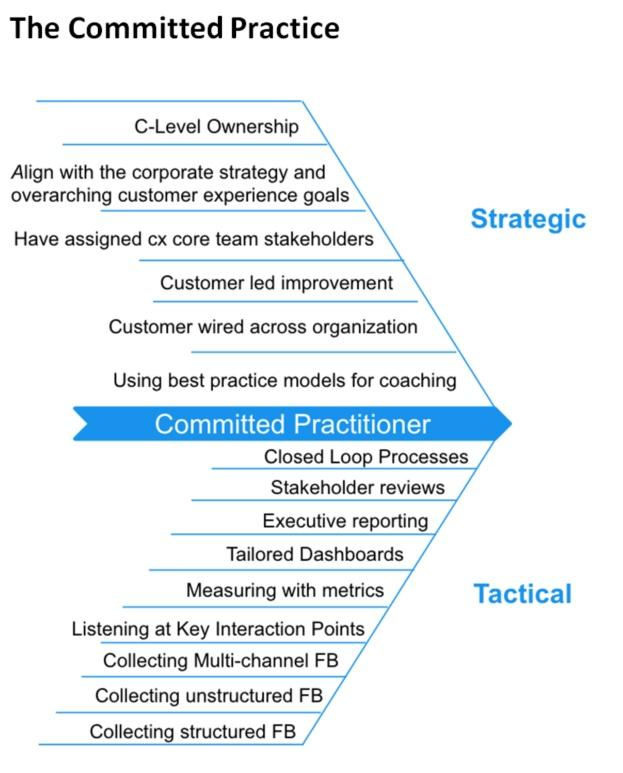 Committed practice agile CX
