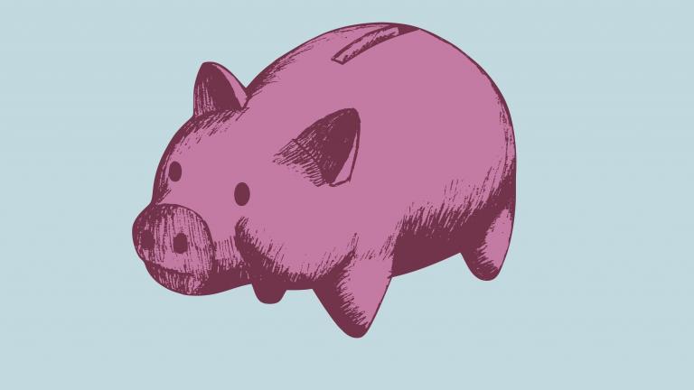 Vintage pig