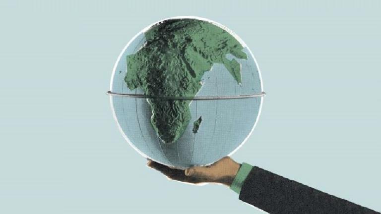 Brand purpose globe