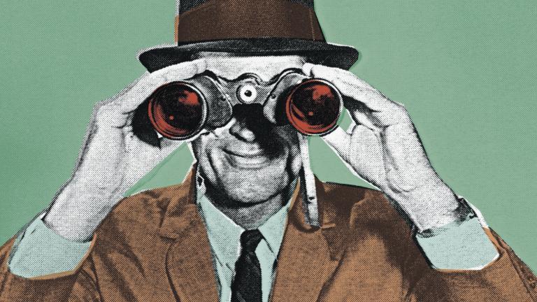 Binoculars customer experience vision