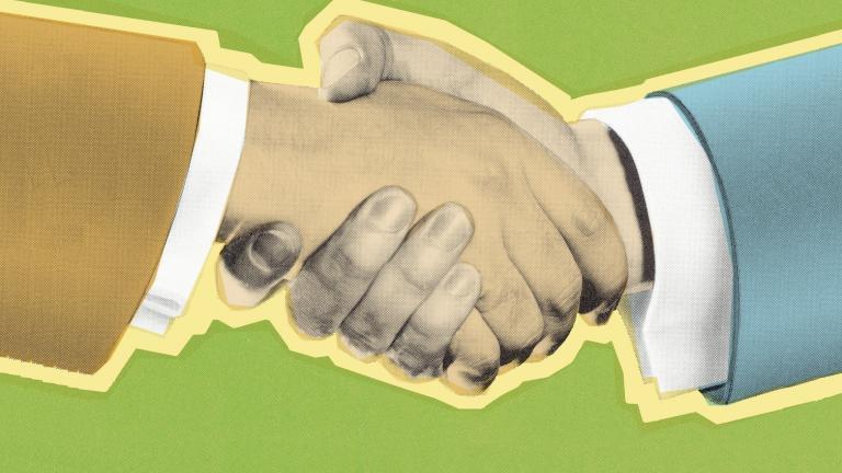 Handshake hire journey manager
