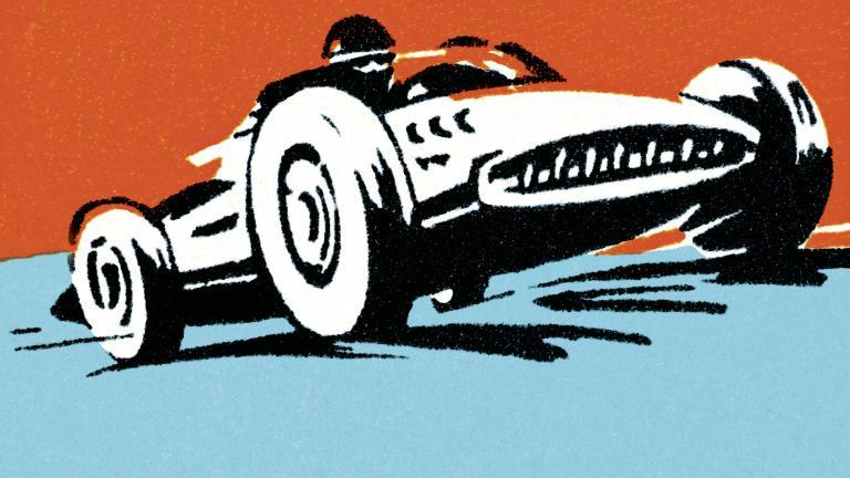 Racing car CRM