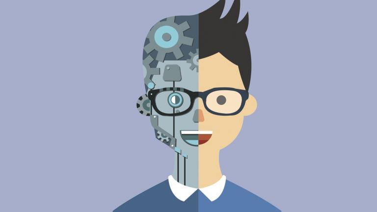 Robot human