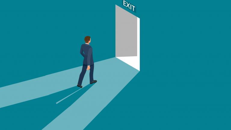 Exit customer