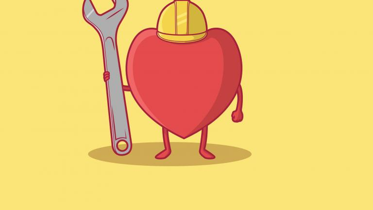 Employee heart spanner