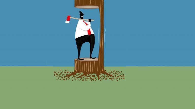 Tree irresponsible CX
