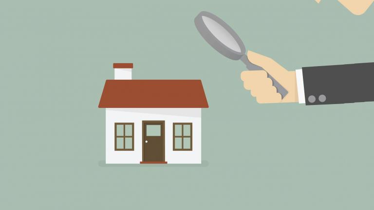 Household magnifying glass