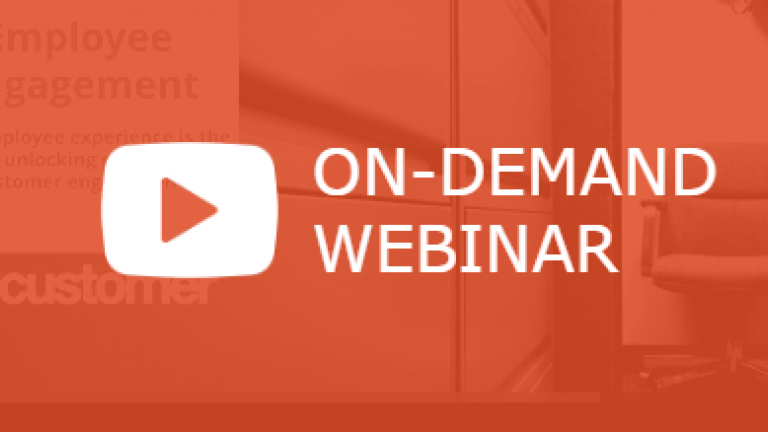 On demand Webinar