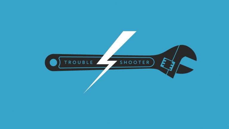 Troubleshooter blue