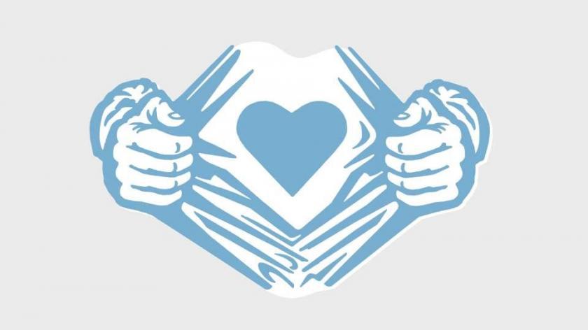 Heart empathy staff