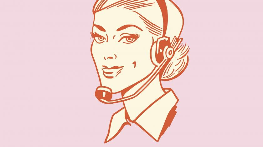 Contact centre agent