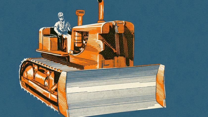 Bulldozer customer service silos