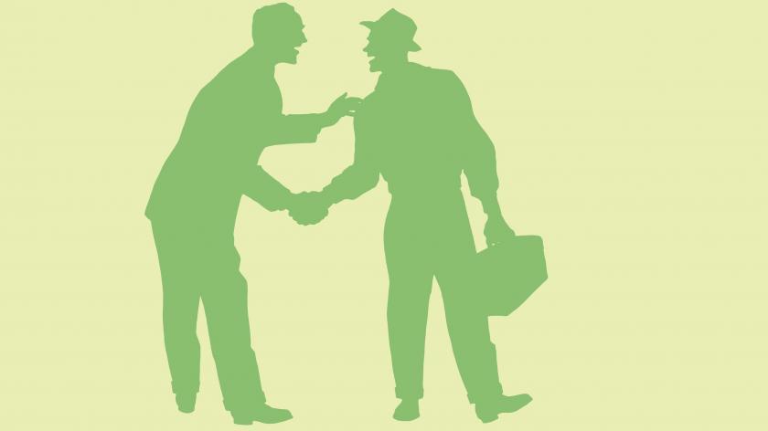 handshake field service