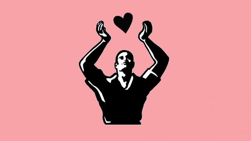 Heart customer emotion