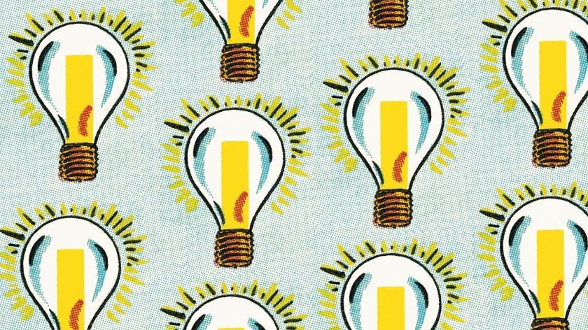 Lightbulb articles insight