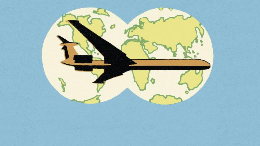 Plane holiday customer service
