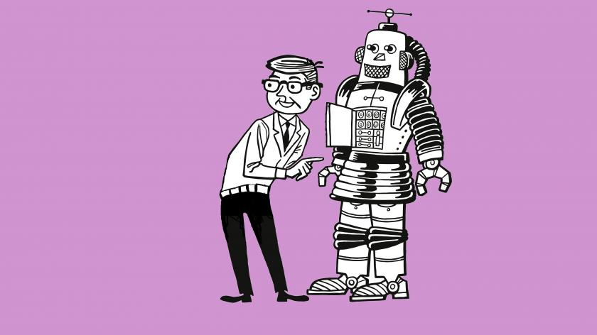 Robot service channels