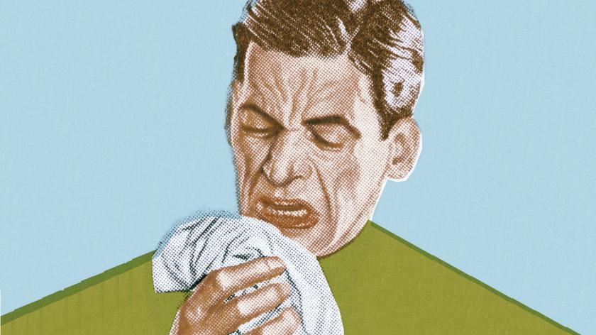 Sneeze coronavirus customer service