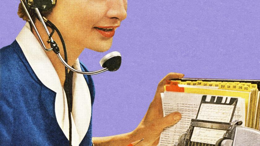 Call centre agent
