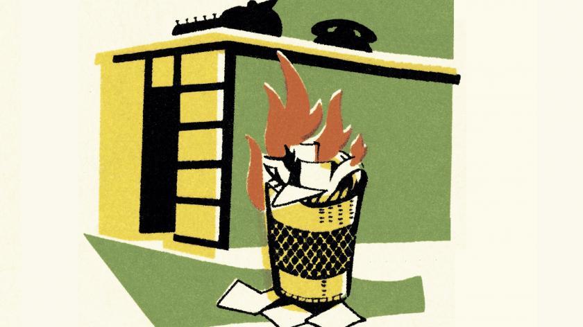 Fire bin strategy