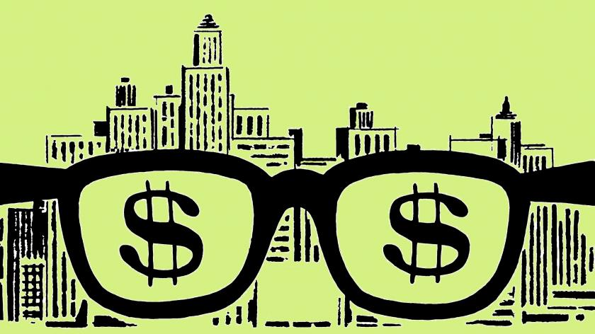 Glasses money