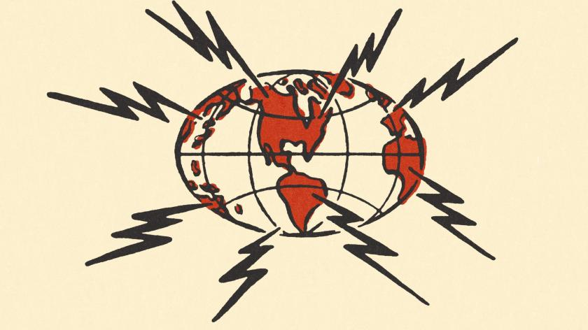 Shook the globe
