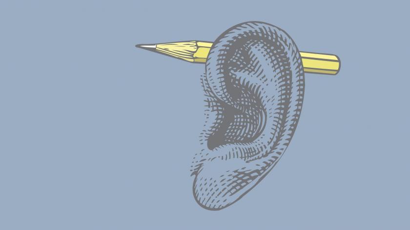 Ear pencil journey map