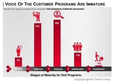 Stages of VoC maturity