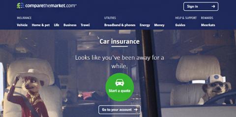 comparethemarket home page