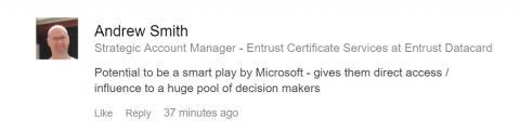 LinkedIn Microsoft