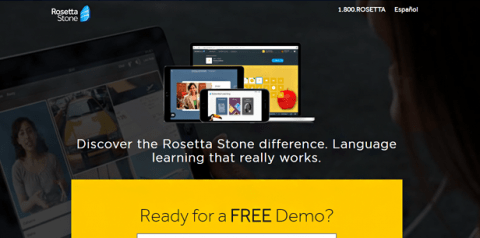 Rosetta stone home page