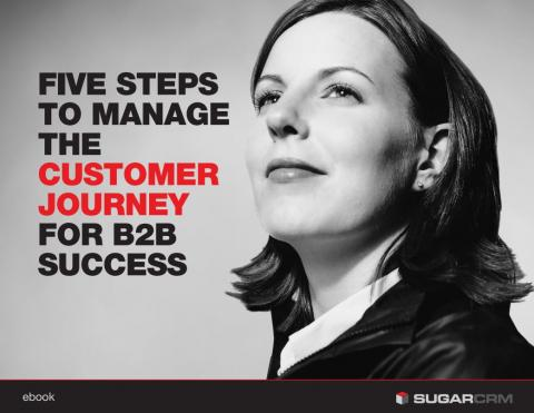 Sugar CRM 5 Steps B2B Customer Journey Success