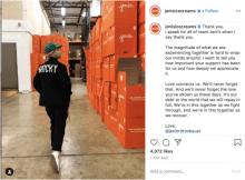 Jeni's Ice Cream instagram post