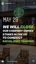 Starbucks Apology on Instagram Account for Racist Discrimination by Store Employee - image 2