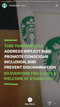 Starbucks Apology on Instagram Account for Racist Discrimination by Store Employee - image 3