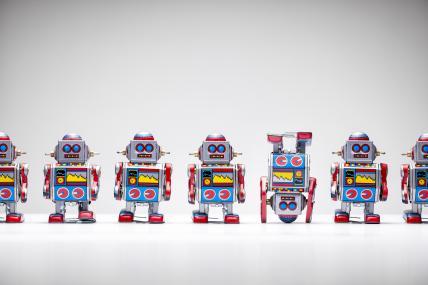tin robots