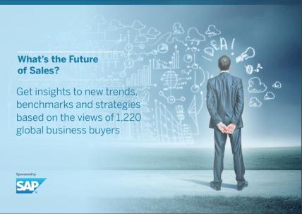 SAP Future of Sales cover